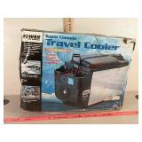 Power power on board super console travel cooler