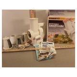 Presto Salad Shooter electric slicer / Shredder -