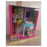 New Barbie Ken doll Magic Shave toy set