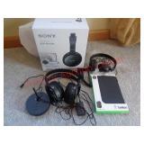 Sony wireless headphones, iPad cover + more