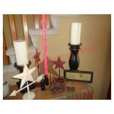 Home decor / candle holders