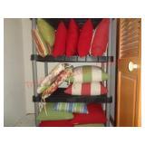 Patio furniture cushions & pillows
