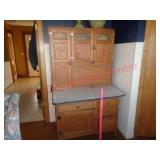 Sellers Antique hoosier kitchen cabinet