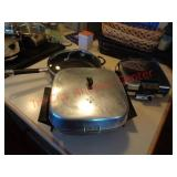 Cookie sheets, waffle iron, elec skillet +