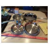 Cuisinart & Wearever pots & pans
