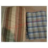 2 modern comforter blankets