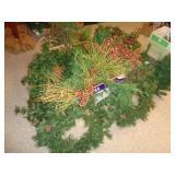 Christmas garland / greenery