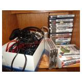 Sony Playstation 2 & PS3 games & controlers