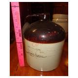 Shoulder crock jug