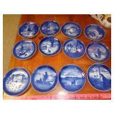 Royal Copenhagel collector plates