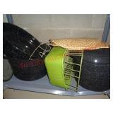 Job lot kitchenware - stock pots, wok +