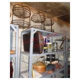 Job lot home decor - Pottery Barn, moss balls +++