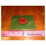 Antique Lucky Strike cigarette tin box