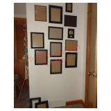 Job lot black picture frames
