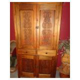 Wood wardrobe / storage cabinet