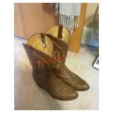Sanders Panhandle slim cowboy boots Size 11D