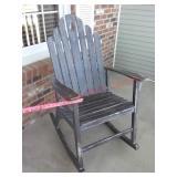 wood rocker rocking chair