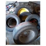 3 Goodyear Wrangler tires & 1 Michelin LT