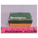 Remington 22 hornet ammo ammunition