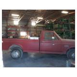 1991 Ford F150 2 wheel drive pick up truck