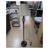 Floor lamp, approx 5ft tall