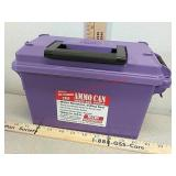 New 30 caliber tall plastic ammo can water