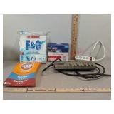 Vacuum bags and power strips