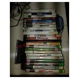 Lot of xbox ps2 Wii games