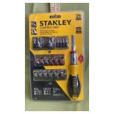 Stanley Control Grip Ratcheting Screwdriver Set