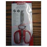 New Coleman 12-in-1 camping scissors