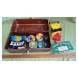 Tackle Box full of fishing line etc.