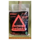 Unstuck Tow Truck in a bag 12 lb bag. See video
