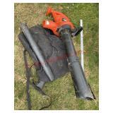 Black & Decker blower/vacuume/mulcher