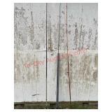 3 fishing poles - mantis, shooter, zebco