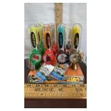 Star Wars spinner Candy Display. 12 ct. Resell or