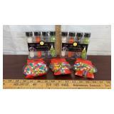 Wilton Halloween Test Tube Sprinkle Sets (2) & 3