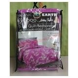 NEW Organic Earth 3piece Quit/Bedspread