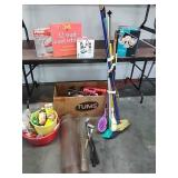 Yard sale starter / household lot