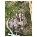 72 twin Maytag engine