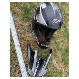 Fulmer mororcycle helmet - Youth L