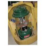 Coleman lantern in case