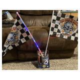 Mark Martin Nascar mug & Bad Boys of Racing flags