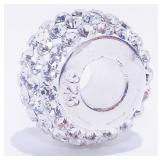 Sterling Silver 925 Pandora-Style Bead 1.9g