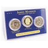 James Madison Presidential Coin Set
