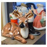 Ceramic Christmas Figures