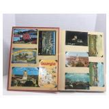 Georgia Postcard Collection Book