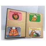 Cartoon Collection Postcard Book