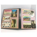 Richmond Indiana Collection Postcard Book