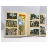 California Movie Stars Collection Postcard Book