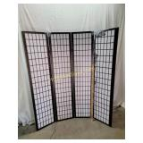 Room Divider - 4 Panel